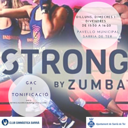 STRONG BY ZUMBA I TONIFICACIÓ